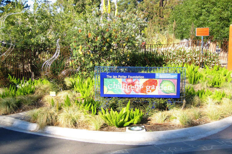The Ian Potter Foundation Children's Garden, Royal Botanic Gardens, Melbourne VIC